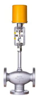 Baelz 367 ANSI 300 3-Way Control Valve